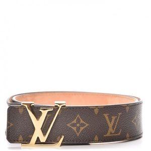 Authentic Louis Vuitton Monogram belt